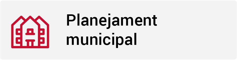 Planejament municipal